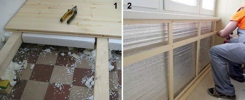 Интересные идеи отделки балконов, фото и выбор материала.